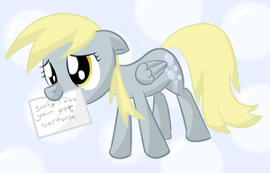 Derpy's Apology by SketchRagon