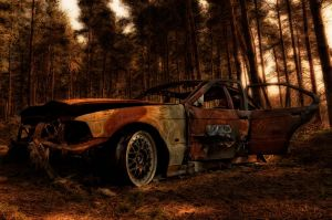 Burnt out III by Umbrageouscourageous