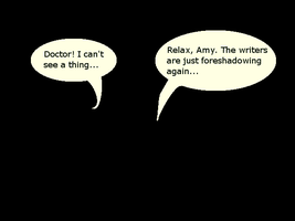 Doctor Who - Foreshadowing by hyperpsychomaniac