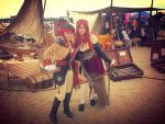 Anne Bonny and I at Pirate Invasion 2015 by WesternSpice