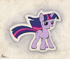 Twilight color pose by Mrocza