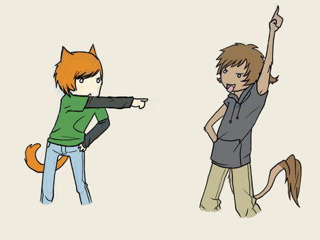 EPIC POINTING by wanae