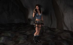 Cave Exploring in Tomb Raider Style by revpeng