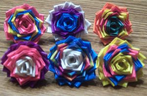 My Little Pony Duct Tape Rings- Mane 6 by LishaChan