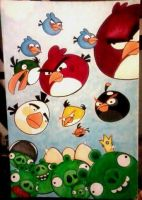 VERY Angry Birds by GG-lover
