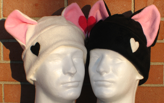 Kitty Hats by Temmith-Snow