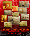 Hoot! Its been a while! A Gravity Falls Journal by Onislogo