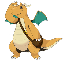 dragonite color by nastyjungle