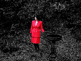 Red Suit Outdoors V by Atlantagirl