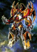 Best Unicron ever by gwydion1982