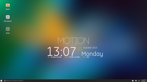 xfce4 - MOTION by Black-Swan-001