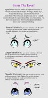 Expressions Part 2- Eyes by UnforgivingPencil
