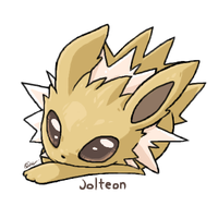Cute Jolteon by GeneralAster