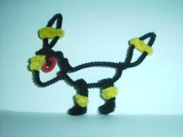 Pipe Cleaner 2-D Umbreon by BestTimes8812