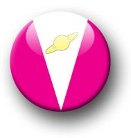 Saturn Girl Button by MShades