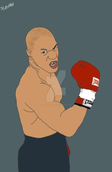 Mike Tyson by pierennephart