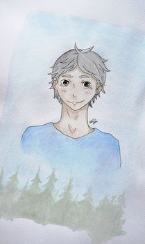 Sugawara Koushi - Haikyuu!! by ElzieBanana
