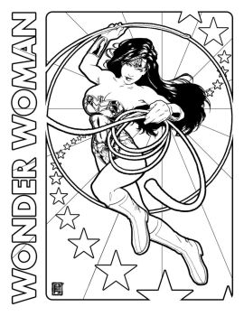 Wonder Woman Day coloring page by johntylerchristopher