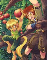 In the apple tree by Zue
