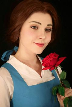 Belle cosplay from Beauty and the beast by Sladkoslava
