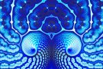 Patterns in Shades of Blue by element90