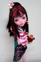 Monster High Draculaura Repaint by blanki