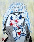 Lady Death in Sexy Lingerie by JVCustoms by jvcustoms