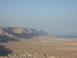 A valley next to Masada by Roooskiii69