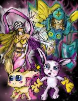 Tailmon Warp Digivolution by TheClintHennesy
