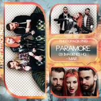 +Photopack png de Paramore by MarEditions1