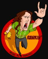 Weird Al: Rawk by Crispy-Gypsy