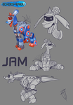 Echoes of Eridu Characters: JAM by CyberToaster