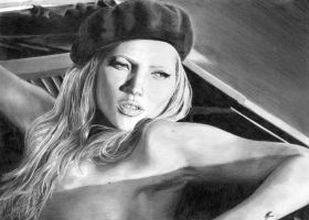 Kate Moss by H3lianthus