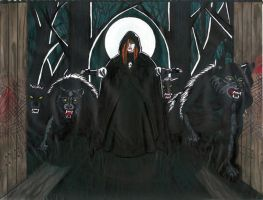 St.Ginger OurLadyof Werewolves by conallwolf