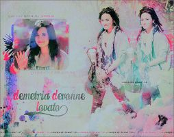 Demetria Devonne Lovato by loveelydesigns