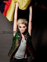 Flag Bill Kaulitz by GwenGC
