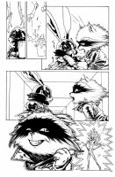 Rocket Raccoon and Groot 4 by timothygreenII