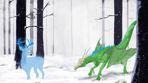 The Snowy West Forest of Annungil by TabbyDerp