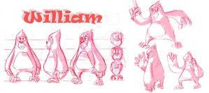 William Character Sheet by immilesaway
