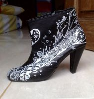 Altheart Custom Boots 1 by exbrainpo