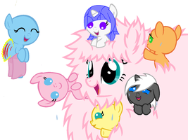 A Party With Fluffle Puff Collab by ElisabethArtist