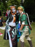 Link and Twilight Princess Midna by awesome-Kathi