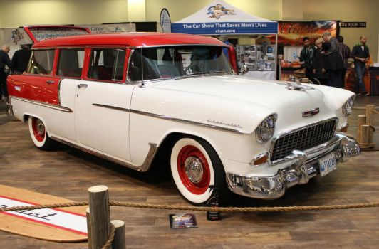 1955 Chevy 210 Wagon by boogster11