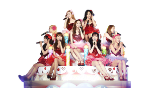 SNSD_Png by Emilybbz