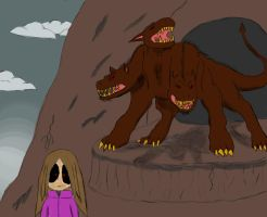 Anni meets the Cerberus by HellStorm8000