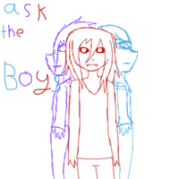 Ask The Boys by RainbowCoffeeQueen
