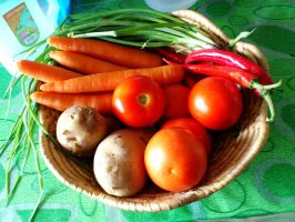 colors of veggies by plainordinary1