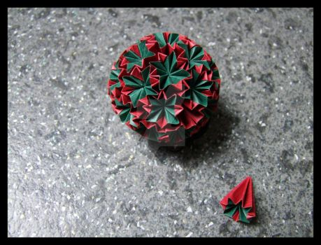 Kusudama 20 by lonely--soldier