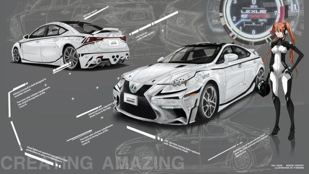 Lexus IS ZERO prototype by P-Shinobi