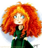 Merida - Brave by lujus
